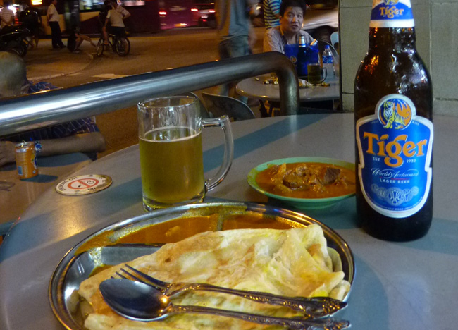Roti Canai, Geylang Food Affair, Singapore Weekend Southeast Asia