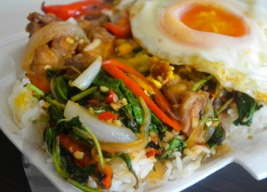 Topped with Egg, Top Bangkok Street Food, Cheap Eats