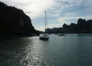 Arriving at Railay Central Pier, Expensive Travel Mishaps, Thailand
