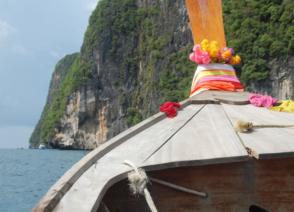 Long Tail Boat to Phi Phi, Expensive Travel Mishaps, Thailand