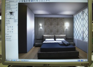 Bedroom Interior Mapping, Buying a Condo in Bangkok Thailand, Southeast Asia