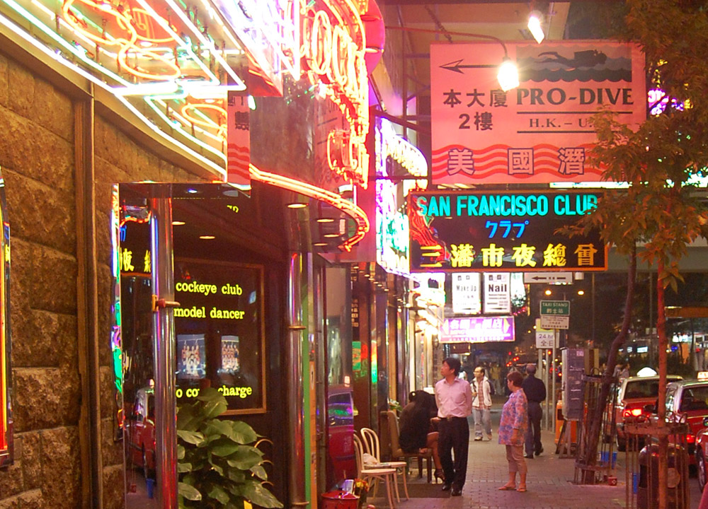 wan chai neon lights hong kong by train travel mtr top attractions