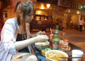 Chinese Noodle Soup, Taipa Macau Old Town, Portuguese Colonial Area, SE Asia