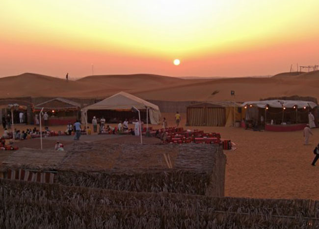 Bedouin Camp near Dubai Desert, Two Day Dubai Stopover, Emirates (UAE)