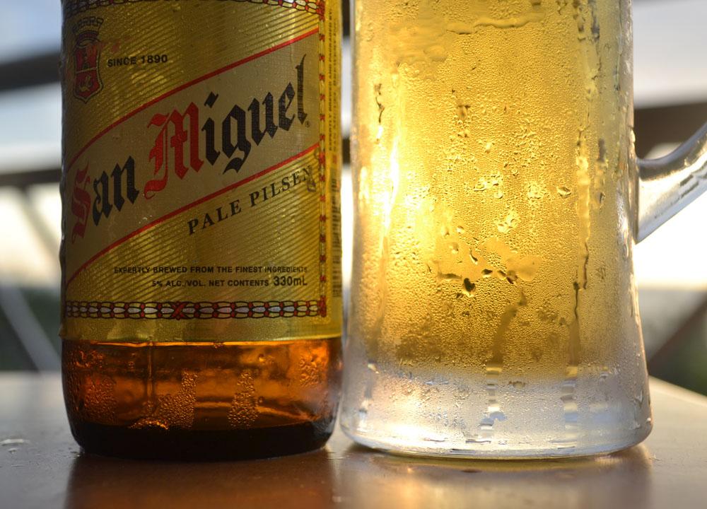 Best Beer in Asia - Beer Heaven in Philippines - San Miguel Pale Pilsen