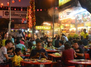 Jalan Alor Food Street, Cheapest Thai VISA Runs from Bangkok Thailand