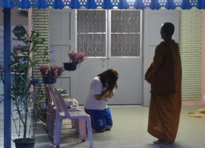 Local 'Bintabat' in Satun, Buddhist Monk Ordination in Thailand, Nang Rong, Buriram