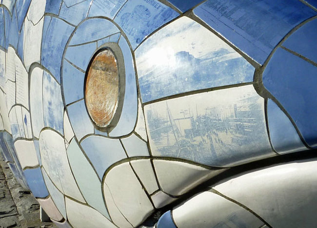 Laganside Big Fish, Things to do in Belfast Tourist Attractions