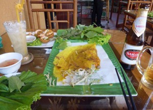 Banh Xeo An La Ghien, Eating in Vietnam, Top 10 Vietnamese Food, SE Asia