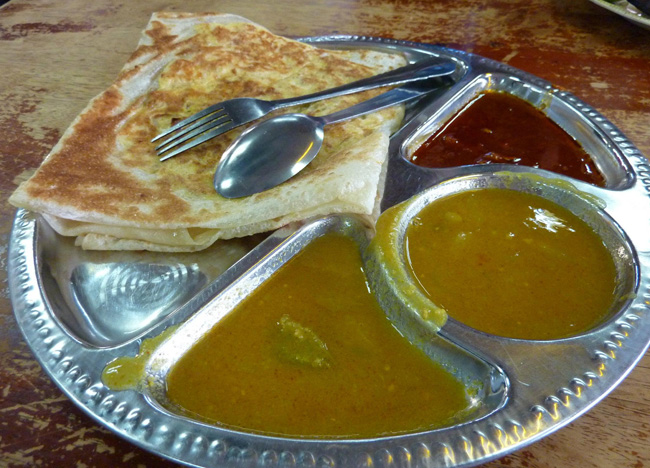 Roti Pratha, Top 50 Foods of Asia, Asian Food Guide