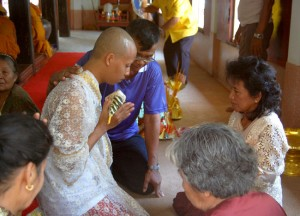 Monk Ordination, Living in Thailand, Nang Rong, Simple life Rural Thailand