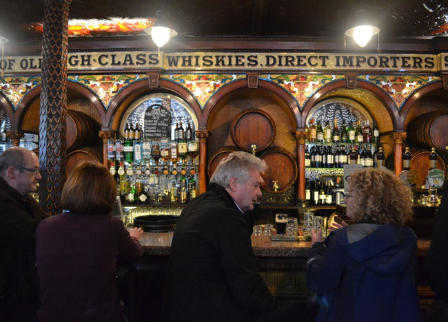 Crown Bar Belfast, Top Best Tourist Attractions in Northern Ireland