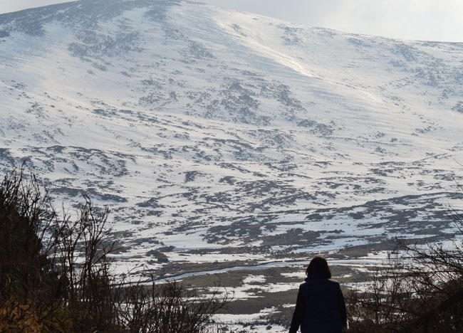 Mourne Mountains in Snow, Top 10 Northern Ireland Attractions NI