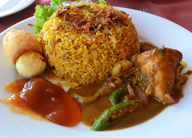 Sri Lankan Biryani, Top 50 Foods of Asia, Asian Food Guide