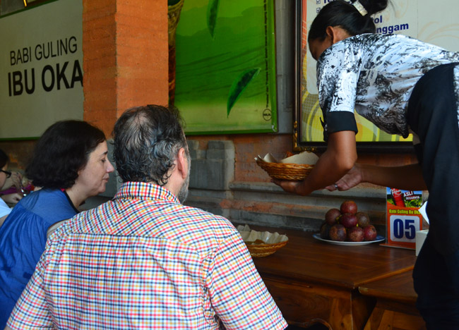 Ibu Oka Customers, Best Restaurants in Ubud Centre, Top 3 Bali Food