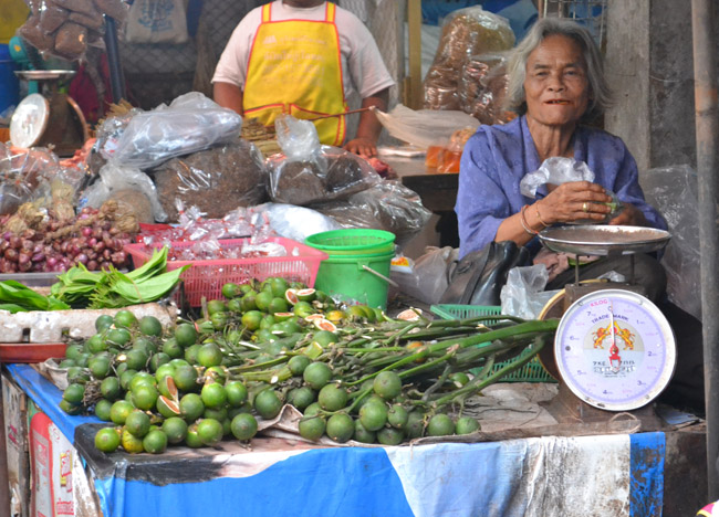 Market Stall, Living in Thailand, Nang Rong, Simple life Rural Thailand