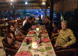 Large Group, Cafe Lotus, Best Restaurants in Ubud Centre, Bali Food