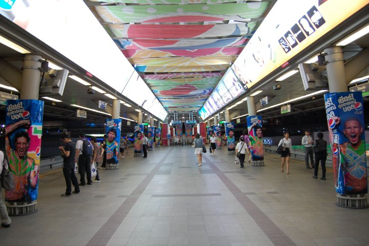 Siam Skytrain, Cost of living in Bangkok on a budget, sukhumvit area