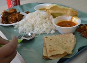 Singapore Thali, Introduction to Indian Food, Eating in India, Asia Travel