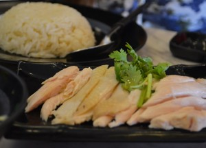 Fancy Rice Dish, Hainanese Chicken Rice Singapore vs Khao Man Gai Thailand