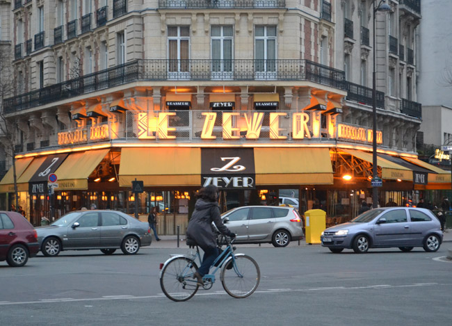 Le Zeyer Paris Cafe, Montparnasse Area of Paris, Montparnasse Station