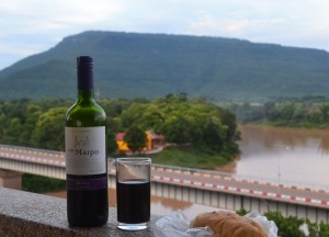 Wine and Baguette in Laos, First Year of Marriage in Bangkok