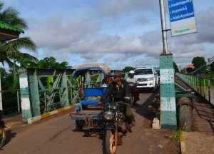 Korean Bridge Pakse, Cheapest Thai VISA Runs from Bangkok Thailand