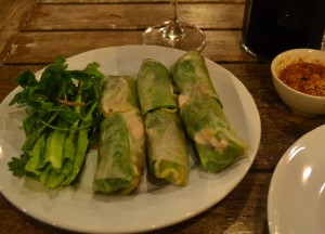 Fresh Summer Rolls, Top 10 Lao Food, Eating in Laos, Southeast Asia