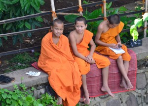 Student Monks, Buddhist Monk Ordination in Thailand, Nang Rong, Buriram