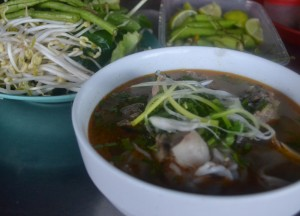 Lao Noodle Soup Breakfast, Top 10 Lao Food, Eating in Laos, Southeast Asia