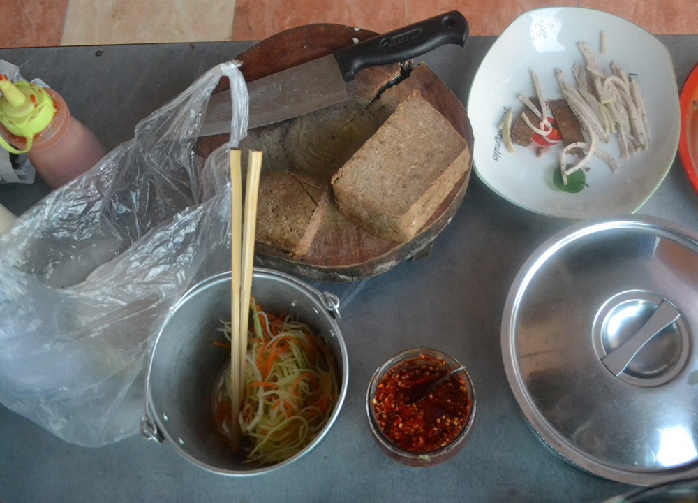 Vietnamese Baguette Filling, Eating in Vietnam, Top 10 Vietnamese Food, SE Asia