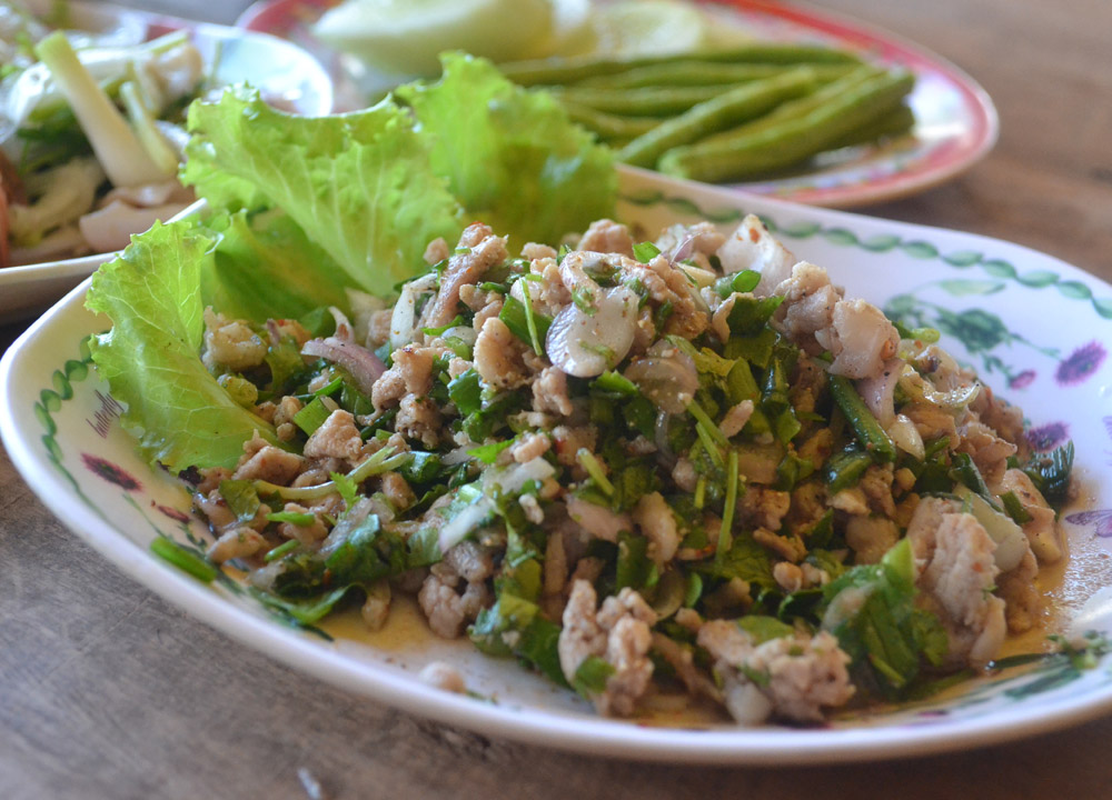 Spicy Pork Salad, Top 50 Foods of Asia, Asian Food Guide