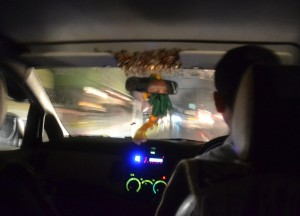 Driving at Night, Gangtok, Sikkim, Travel in Indian Himalayas, Asia