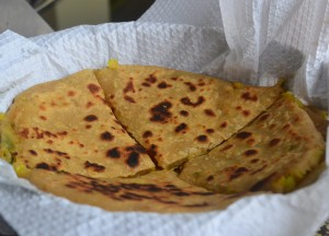 Aloo Paratha, Introduction to Indian Food, Eating in India, Asia Travel