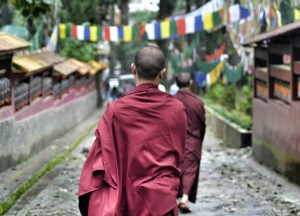 Enchey Monastery, Gangtok, Sikkim, Travel in Indian Himalayas, Asia
