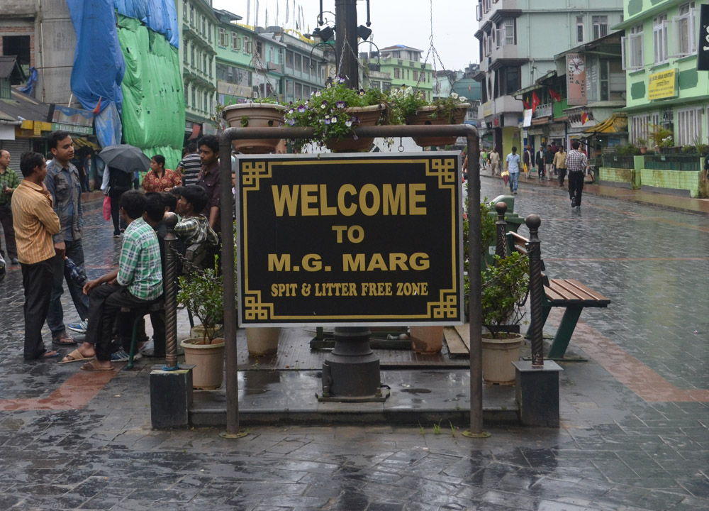 MG Marg New Market, Gangtok, Sikkim, Travel in Indian Himalayas, Asia