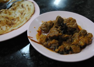 Roti Mutton Curry, Introduction to Indian Food, Eating in India, Asia Travel