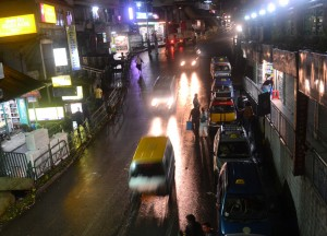 Traffic at Night, Gangtok, Sikkim, Travel in Indian Himalayas, Asia