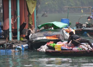 Floating Village, Best Halong Bay Overnight Cruise Tours from Hanoi