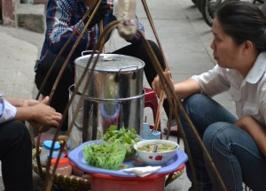 Roadside Soup Vendor, Eating in Vietnam, Top 10 Vietnamese Food, SE Asia