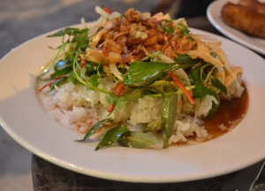 Xoi Ga Chicken Sticky Rice, Eating in Vietnam, Top 10 Vietnamese Food, SE Asia