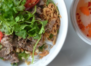 Bun Bo Nam Bo, Eating in Vietnam, Top 10 Vietnamese Food, SE Asia