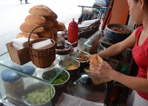 Roadside Baguettes Banh Mi, Eating in Vietnam, Top 10 Vietnamese Food, SE Asia