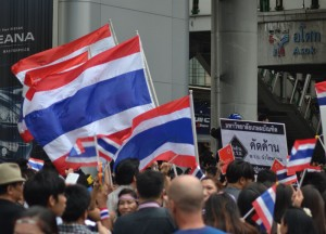 Flying Thai Flags, Amnesty Bill Protests, Is Bangkok Safe for Travel