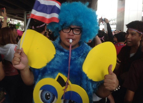 Amnesty Protests Asoke, Simplifying Bangkok Protests on Sukhumvit Road
