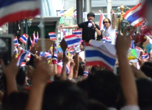 Crowds of Thai Flags, Amnesty Bill Protests, Is Bangkok Safe for Travel