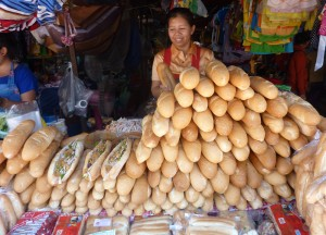 Lao French Baguettes, Top 10 Lao Food, Eating in Laos, Southeast Asia