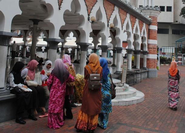 Jamek Mosque KL, Cheapest Thai VISA Runs from Bangkok Thailand