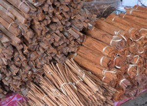 Spices at Khan Kham Market, Vientiane City Tour, Things to do in Laos
