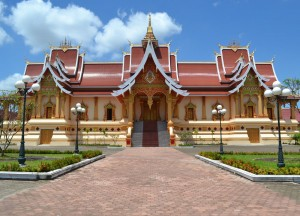 Temple Beside That Luang, Vientiane City Tour, Things to do in Laos